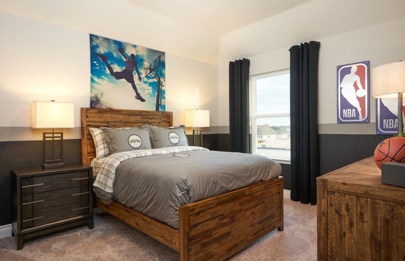 Bedroom featured in the Mooreville - 3-Car Garage By Pulte Homes in San Antonio, TX