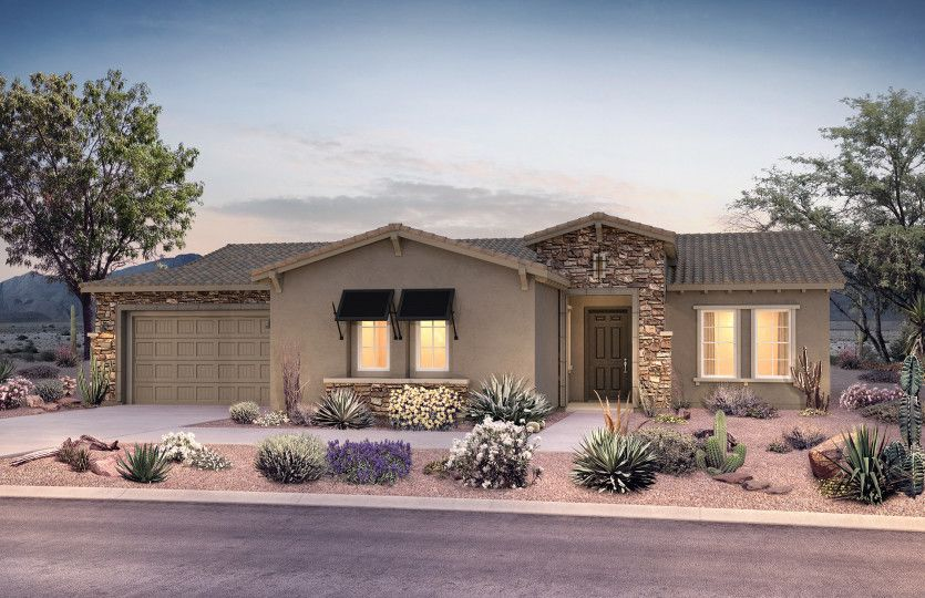Exterior featured in the Eternity By Pulte Homes in Tucson, AZ