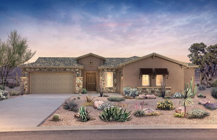 Exterior featured in the Harmony By Pulte Homes in Tucson, AZ