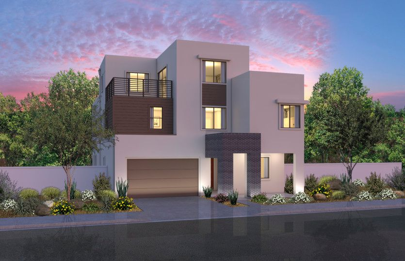 Exterior featured in the Plan Three By Pulte Homes in Orange County, CA