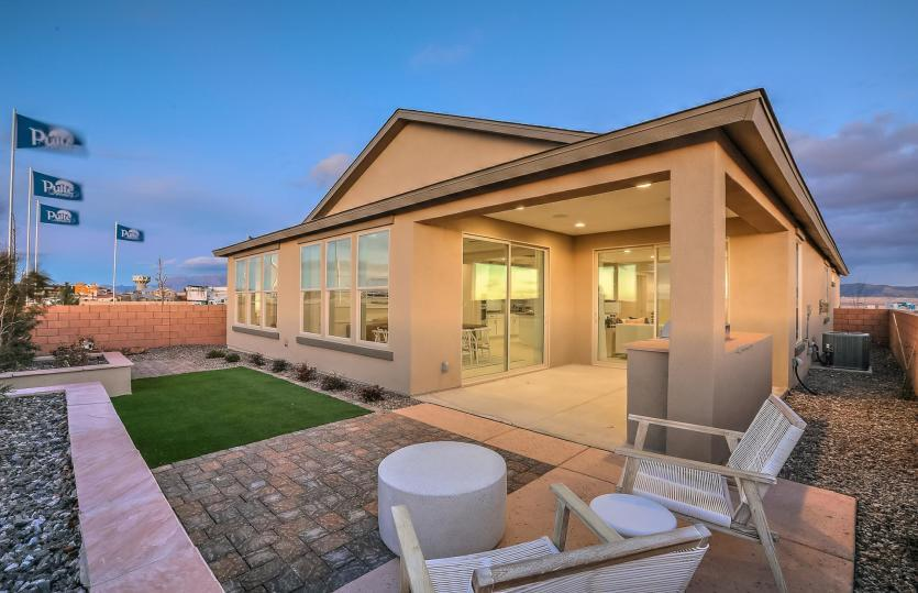Exterior featured in the Tifton Walk By Pulte Homes in Albuquerque, NM