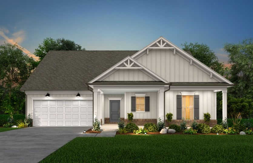 Exterior featured in the Bridgestone By Pulte Homes in Raleigh-Durham-Chapel Hill, NC