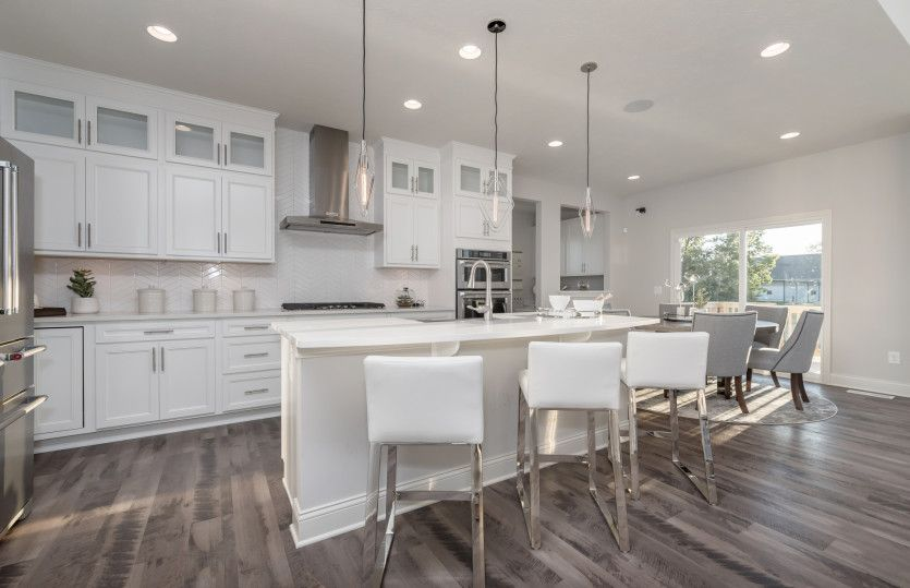 Kitchen featured in the Woodside By Pulte Homes in Indianapolis, IN