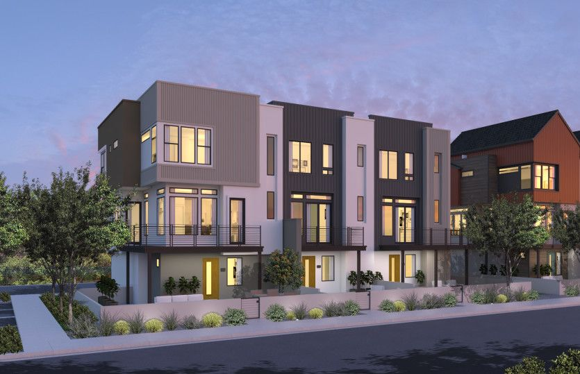 Exterior featured in the Residence One By Pulte Homes in Orange County, CA
