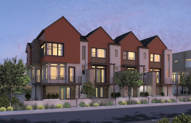Residence Three:4 Plex Elevation B