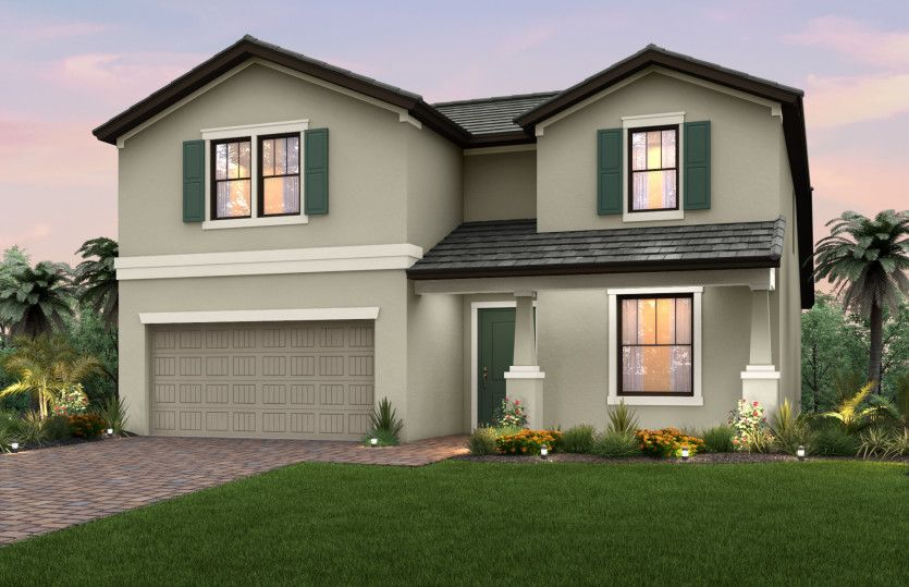 Exterior featured in the Citrus Grove By Pulte Homes in Fort Myers, FL