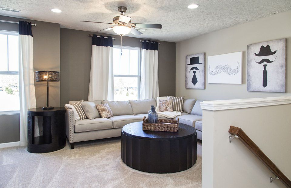 Living Area featured in the Newberry By Pulte Homes in Cleveland, OH