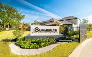 Summerlyn At Spring Branch by Pulte Homes in Houston Texas