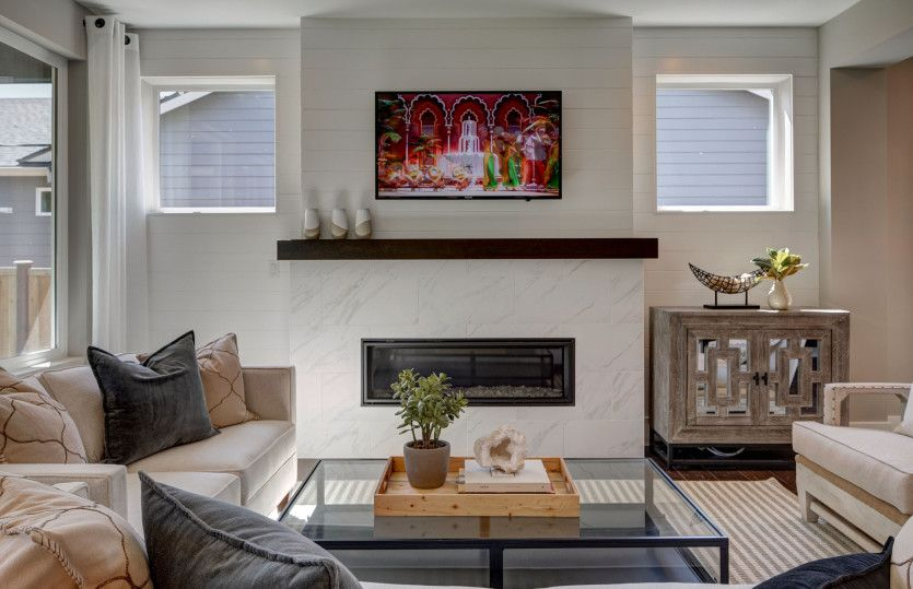 Living Area featured in the Roslyn By Pulte Homes in Seattle-Bellevue, WA
