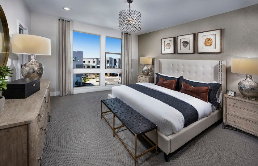 Bedroom featured in the Plan 3 By Pulte Homes in San Jose, CA