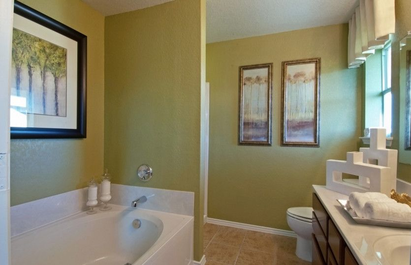 Bathroom featured in the Becket By Pulte Homes in Fort Worth, TX