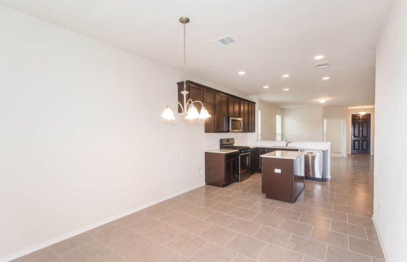 Kitchen featured in the Independence By Pulte Homes in Fort Worth, TX