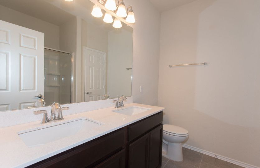 Bathroom featured in the Independence By Pulte Homes in Fort Worth, TX