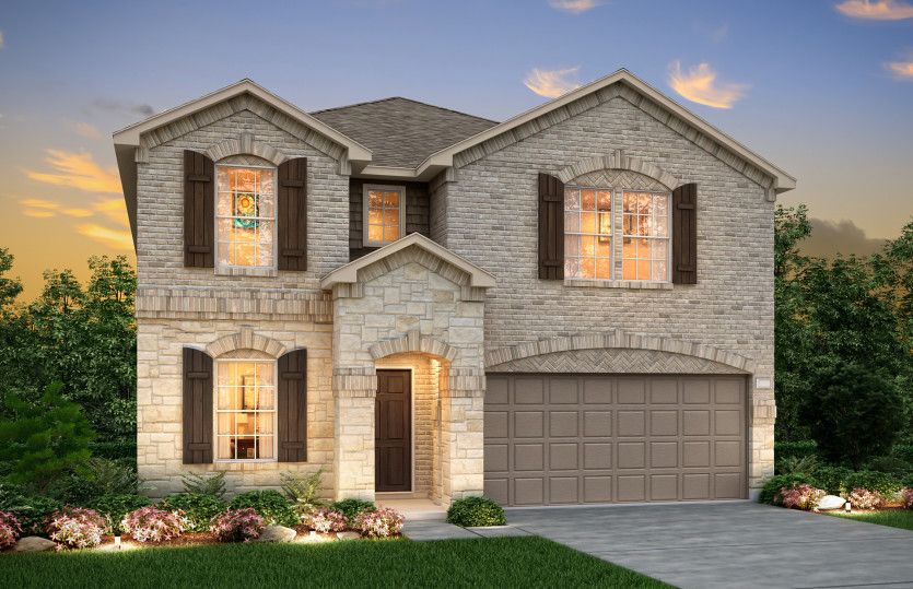 Exterior featured in the Kisko By Pulte Homes in Fort Worth, TX