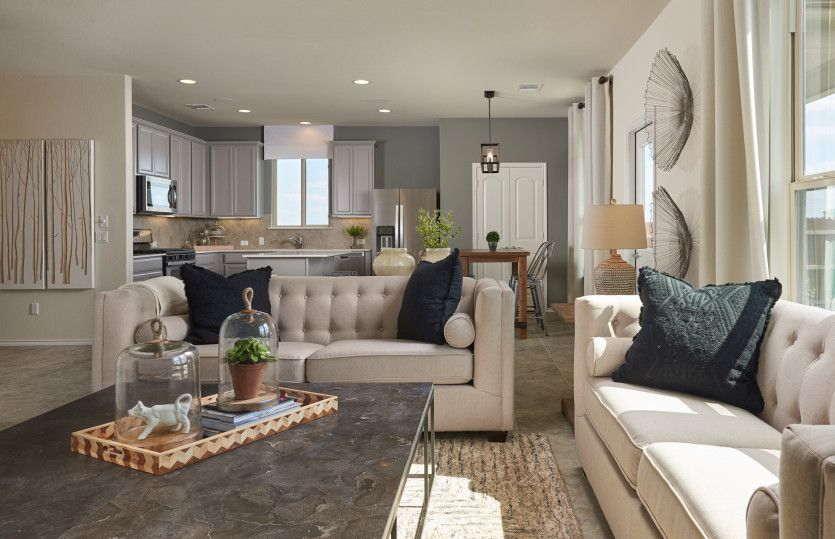 Living Area featured in the Kisko By Pulte Homes in Fort Worth, TX