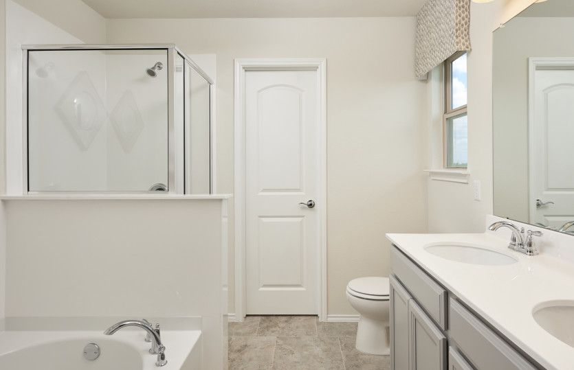 Bathroom featured in the Kisko By Pulte Homes in Fort Worth, TX
