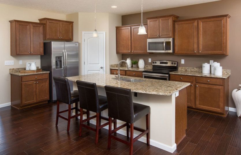 Kitchen featured in the Hampton By Pulte Homes in Detroit, MI