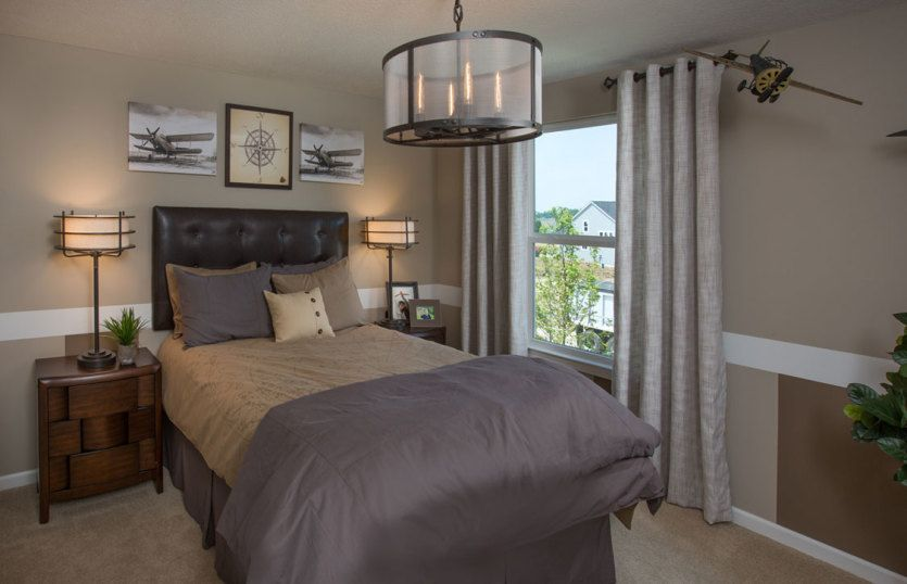 Bedroom featured in the Hampton By Pulte Homes in Detroit, MI
