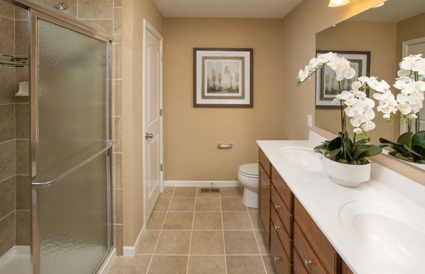 Bathroom featured in the Hampton By Pulte Homes in Detroit, MI