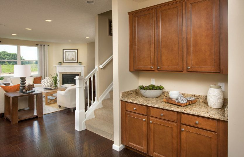 Living Area featured in the Hampton By Pulte Homes in Detroit, MI