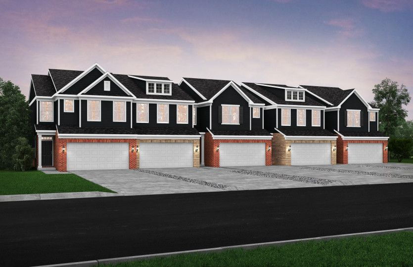 Exterior featured in the Cascade By Pulte Homes in Detroit, MI