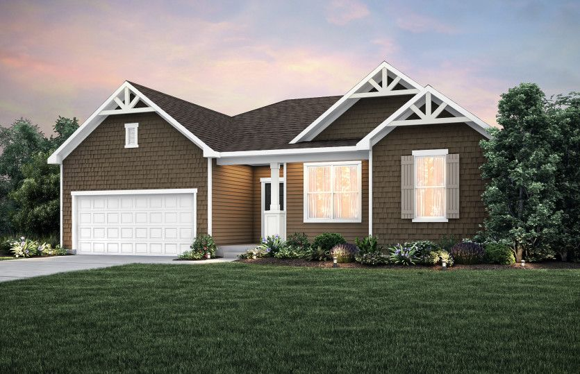 Exterior featured in the Amberwood By Pulte Homes in Minneapolis-St. Paul, MN