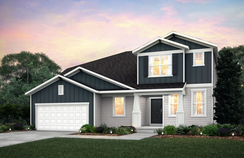 Exterior featured in the Greenfield By Pulte Homes in Minneapolis-St. Paul, MN