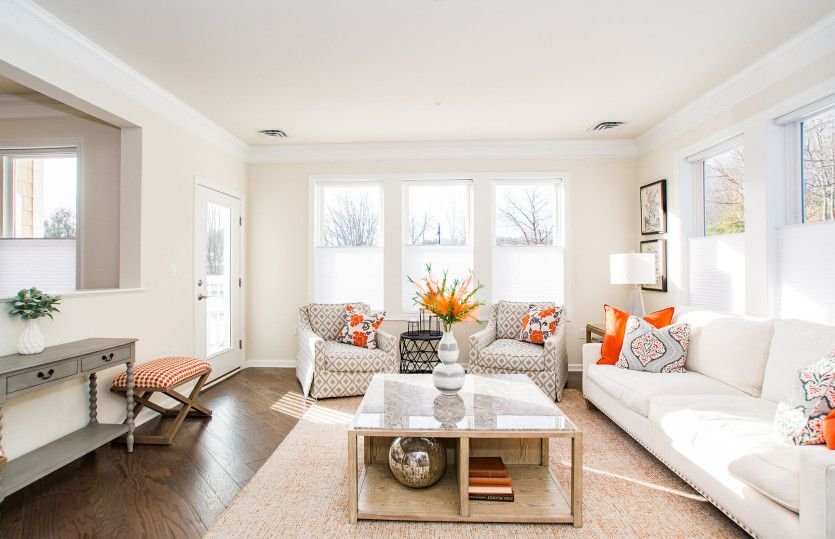 Living Area featured in the Addison By Pulte Homes in Boston, MA