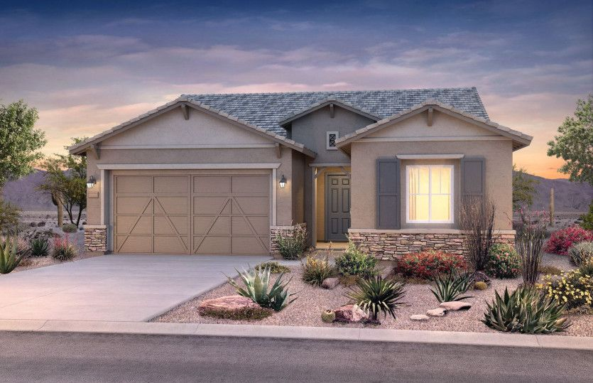 Exterior featured in the Acerra By Pulte Homes in Tucson, AZ