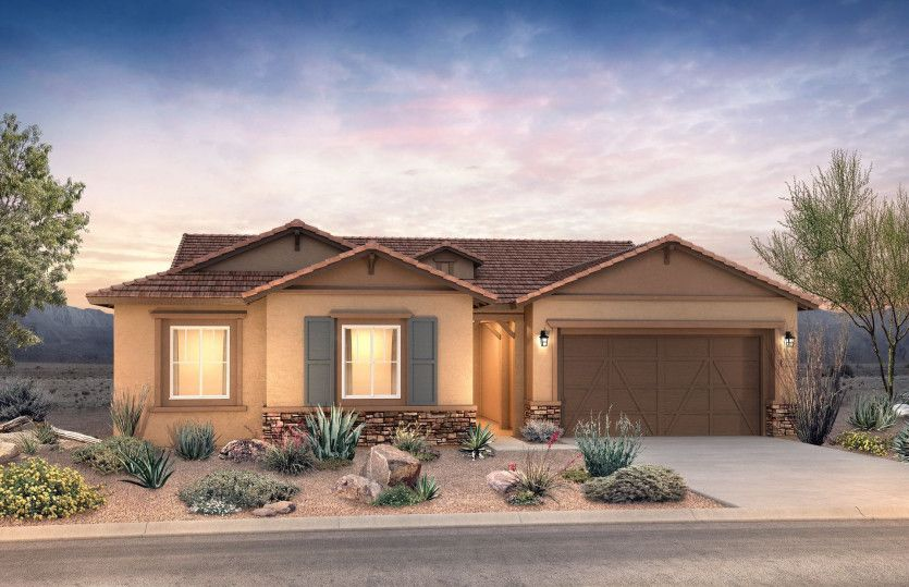 Exterior featured in the Vicenza By Pulte Homes in Tucson, AZ
