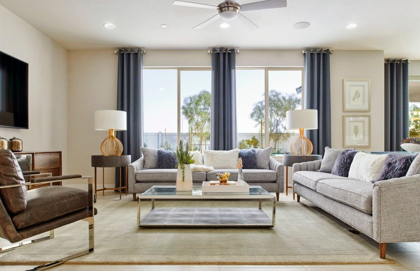 Living Area featured in the Coventry By Pulte Homes in Riverside-San Bernardino, CA