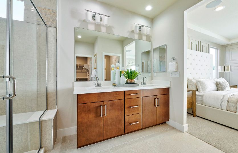 Bathroom featured in the Coventry By Pulte Homes in Riverside-San Bernardino, CA