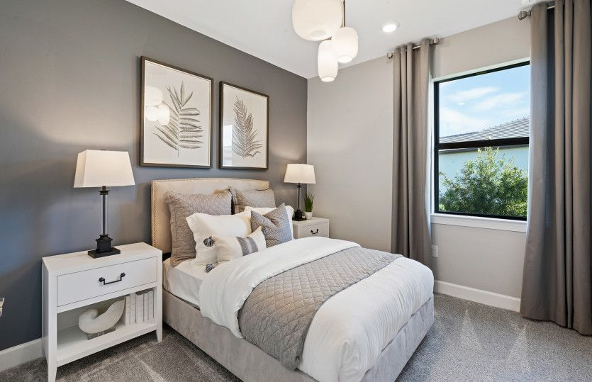 Bedroom featured in the Contour By Pulte Homes in Punta Gorda, FL