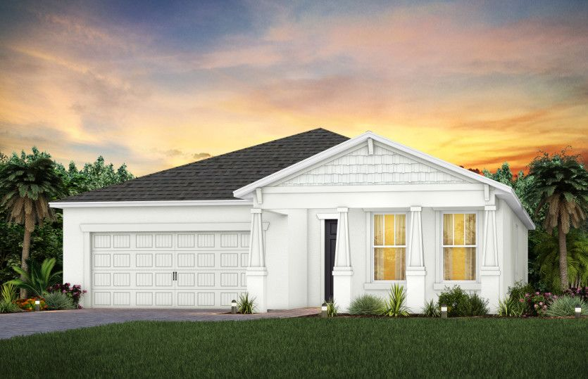 Exterior featured in the Prestige By Pulte Homes in Punta Gorda, FL
