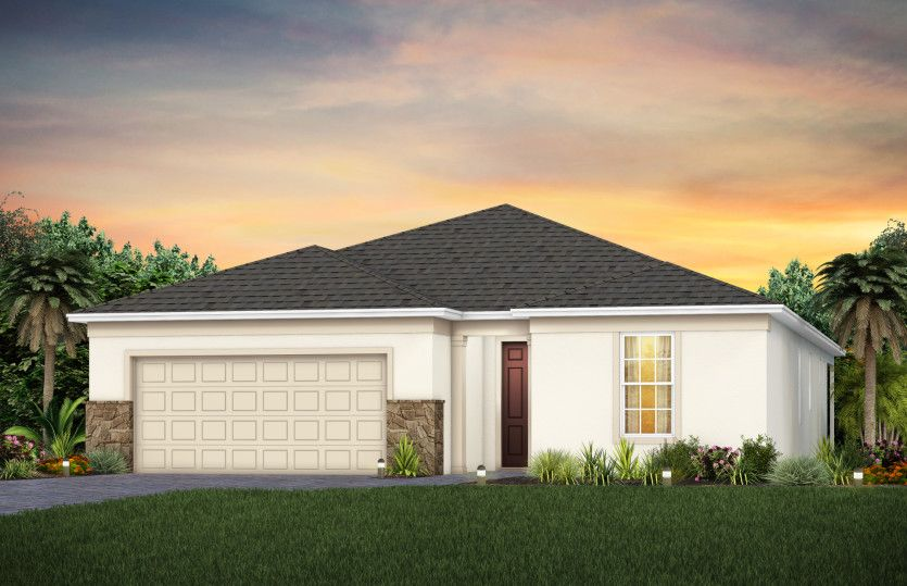Exterior featured in the Prosperity By Pulte Homes in Punta Gorda, FL