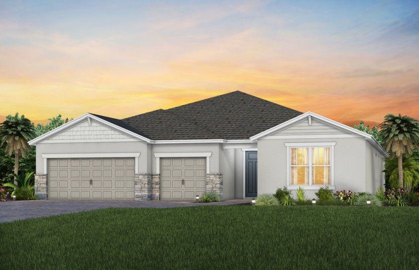 Exterior featured in the Renown By Pulte Homes in Punta Gorda, FL