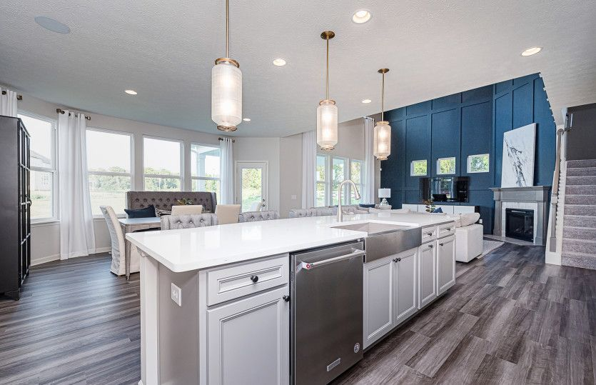 Kitchen featured in the Castleton By Pulte Homes in Indianapolis, IN