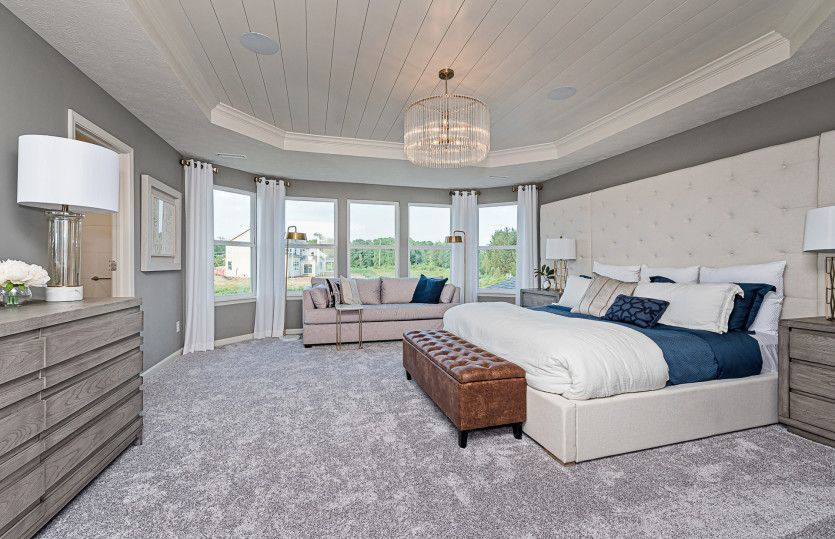 Bedroom featured in the Castleton By Pulte Homes in Indianapolis, IN