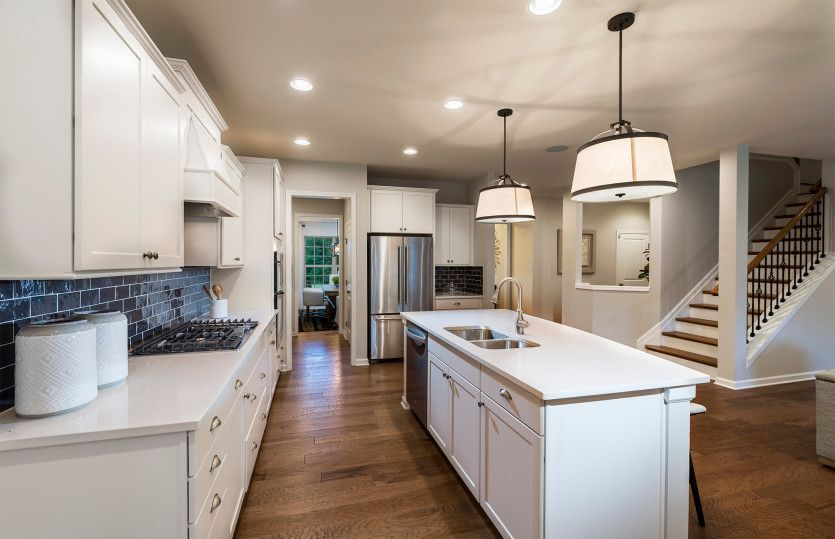 Kitchen featured in the Continental By Pulte Homes in Charlotte, NC