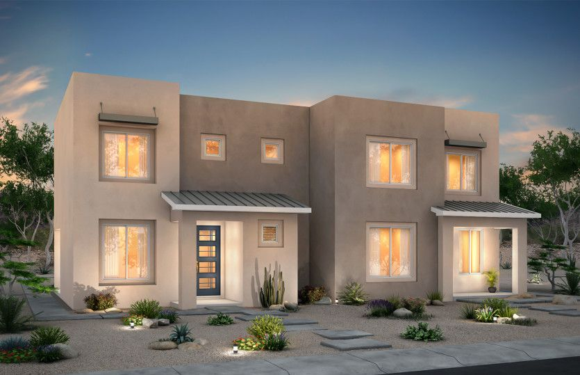 Exterior featured in the Agave By Pulte Homes in Santa Fe, NM