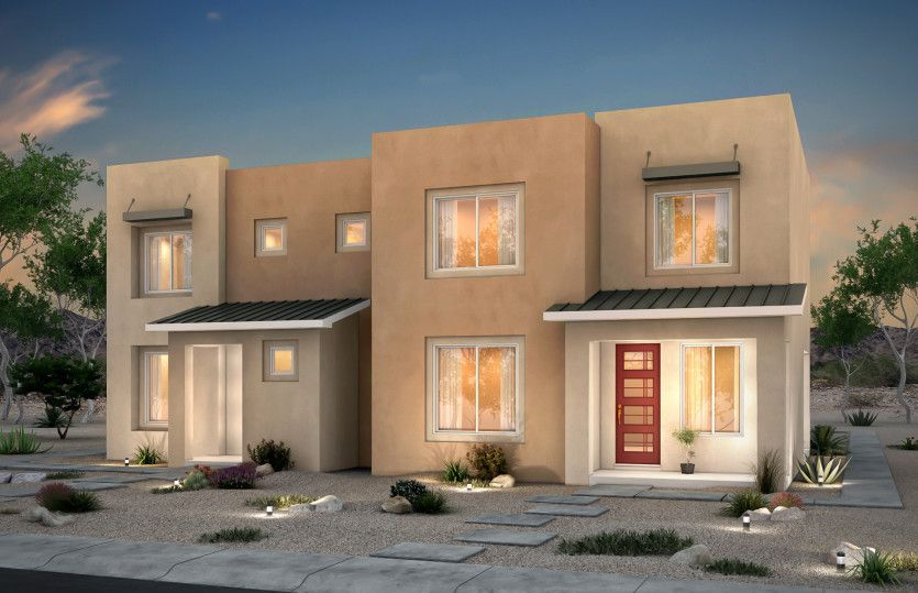 Exterior featured in the Indigo By Pulte Homes in Santa Fe, NM