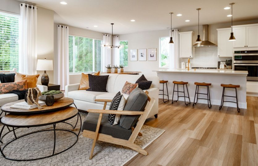 Living Area featured in the Holman By Pulte Homes in Seattle-Bellevue, WA