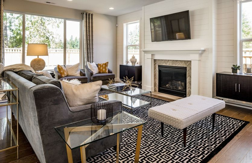 Living Area featured in the Lakeview By Pulte Homes in Seattle-Bellevue, WA