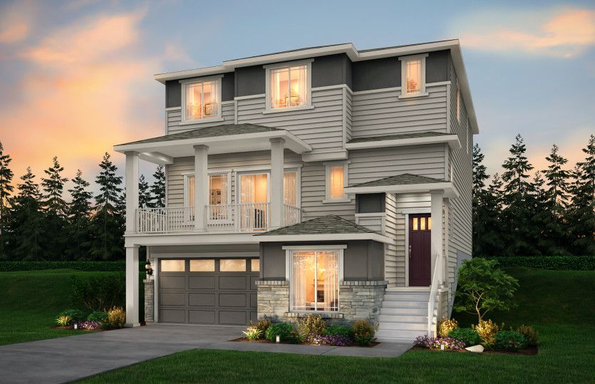 Exterior featured in the Willows By Pulte Homes in Seattle-Bellevue, WA
