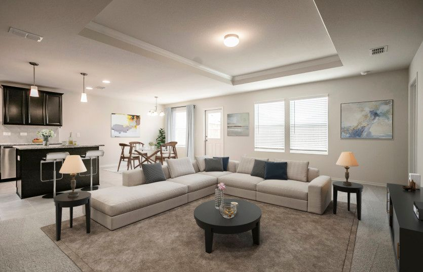 Living Area featured in the Serenada By Pulte Homes in Fort Worth, TX