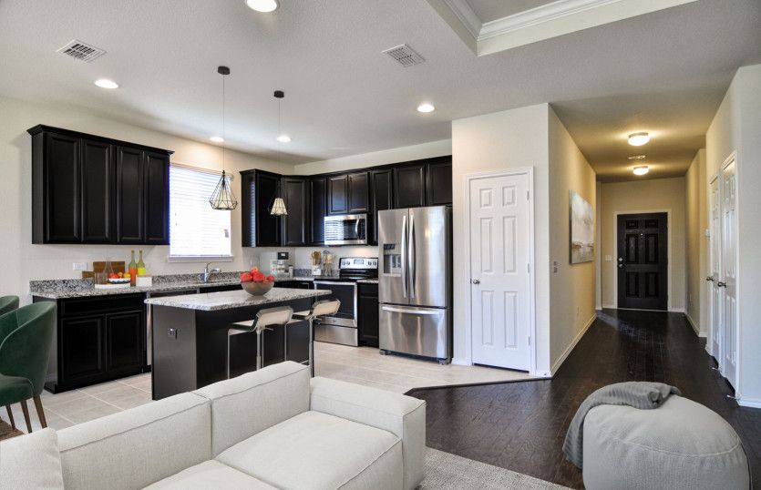 Kitchen featured in the Rayburn By Pulte Homes in Fort Worth, TX