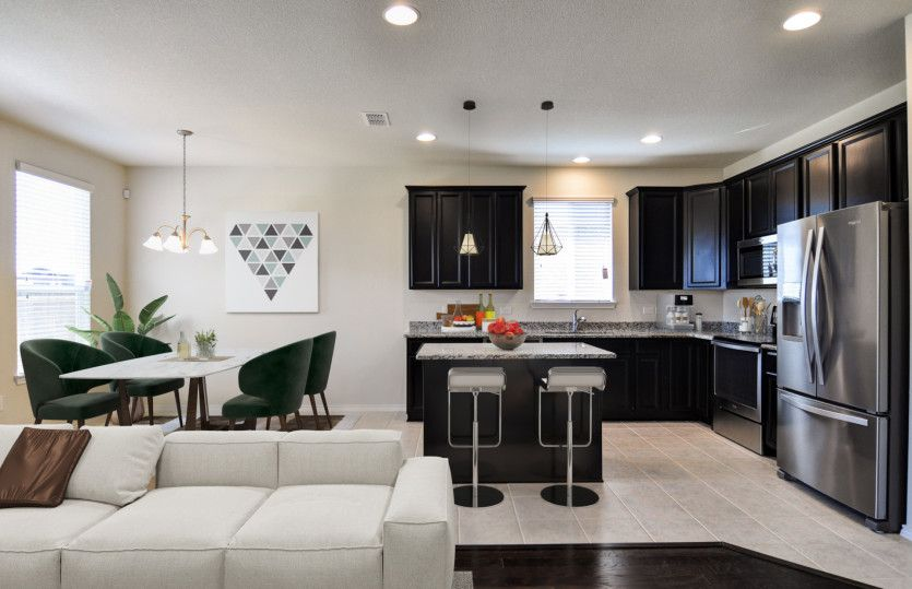 Kitchen featured in the Rayburn By Pulte Homes in Dallas, TX
