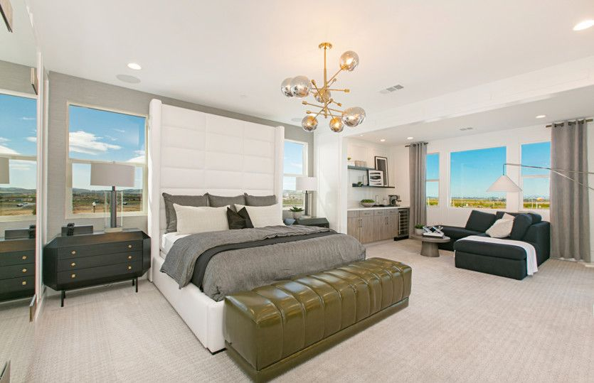 Bedroom featured in the Plan One By Pulte Homes in Orange County, CA