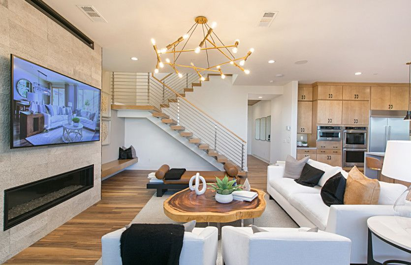 Living Area featured in the Plan Two By Pulte Homes in Orange County, CA