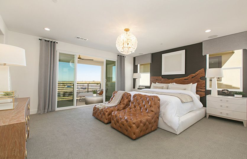 Bedroom featured in the Plan Two By Pulte Homes in Orange County, CA